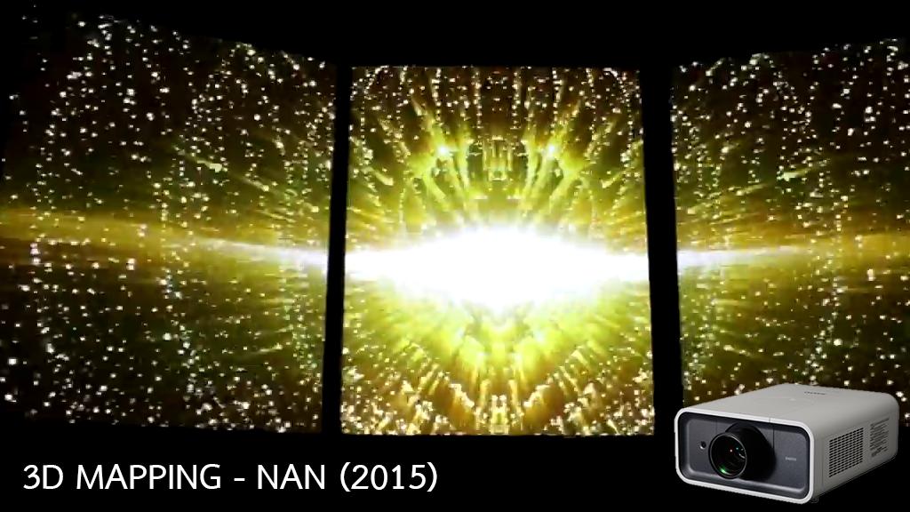 3D MAPPING – NAN (2015)