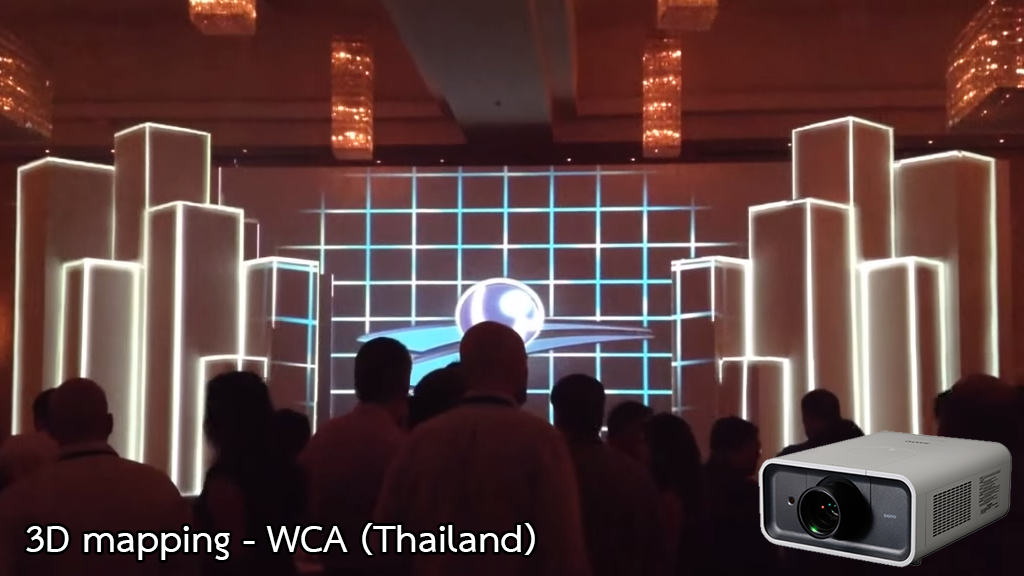 3D mapping - WCA (Thailand)