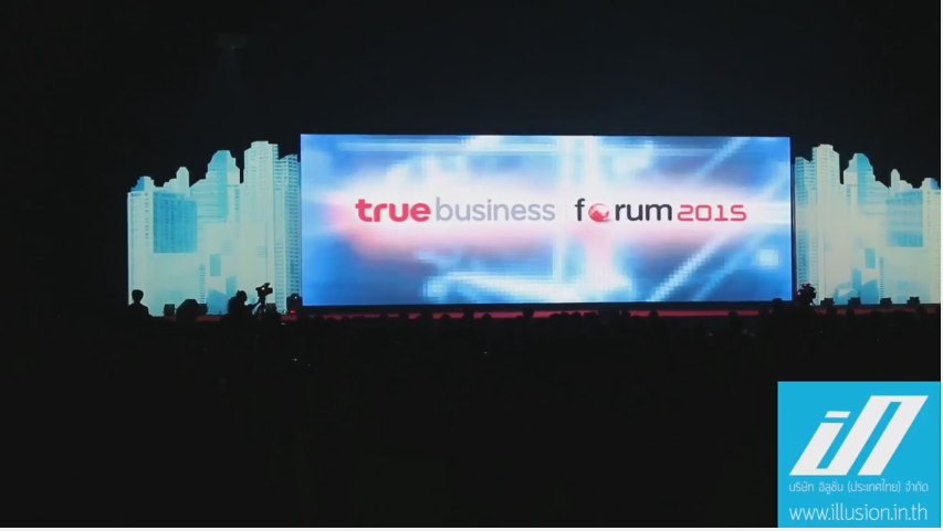 3D MAPPING – TRUE BUSINESS FORUM 2015