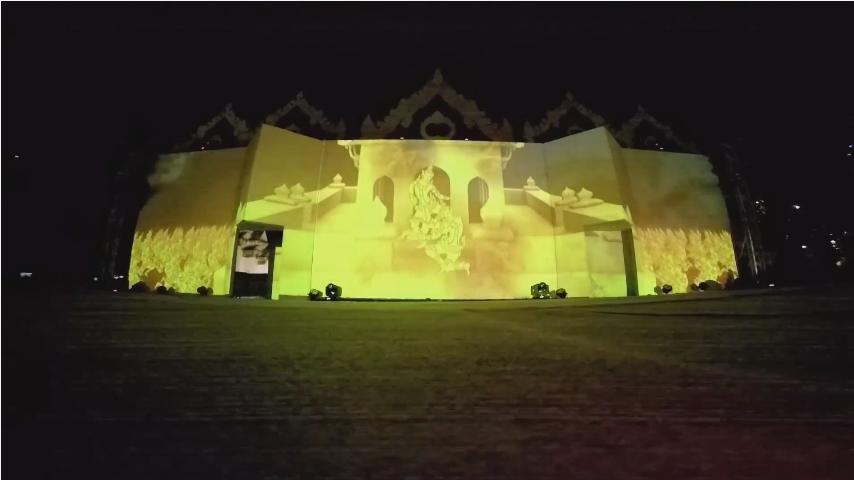 3D MAPPING – งานแผ่นดินสมเด็จพระนารายณ์มหาราช 2558